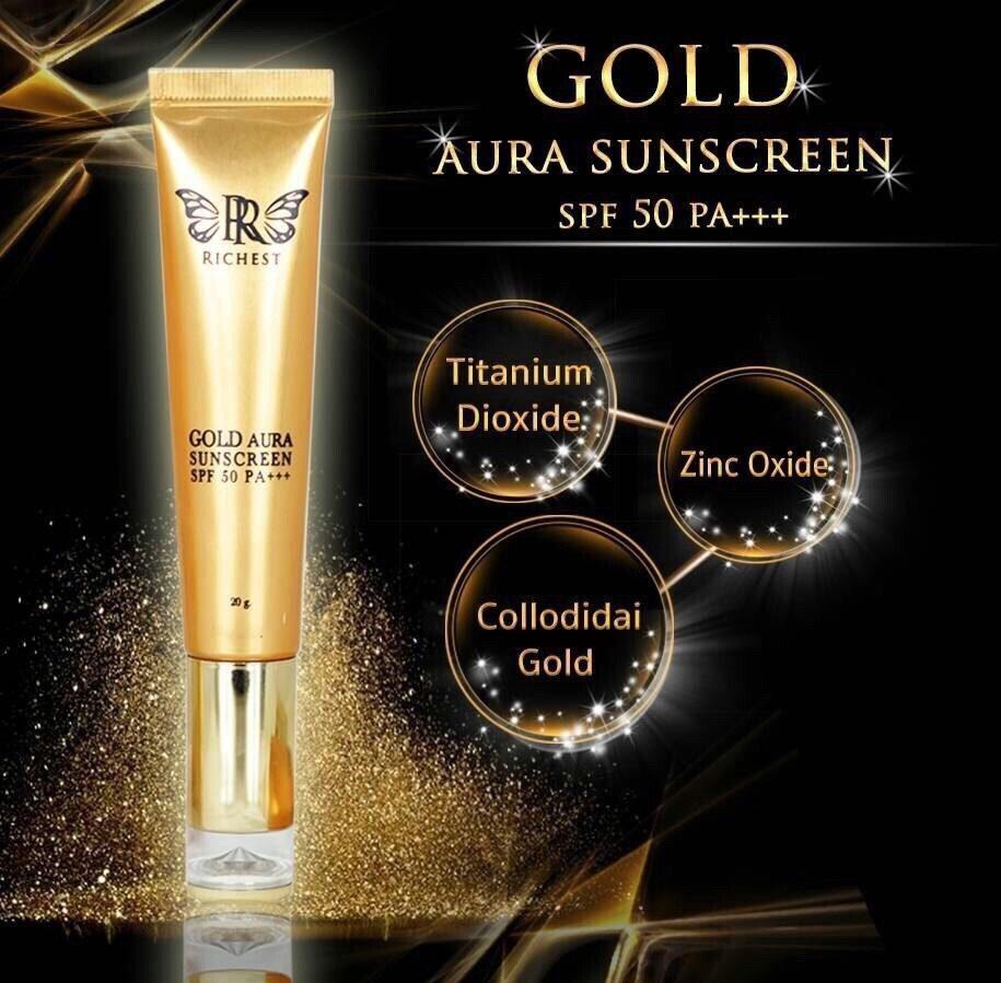 Gold Aura Sunscreen SPF 50 PA +++
